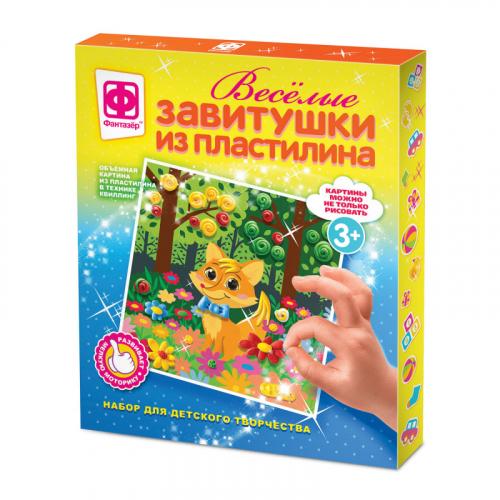 447102 Веселые завитушки из пластилина Набор №2
