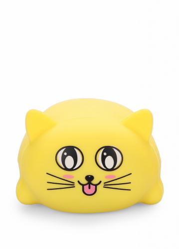 Игрушка HAPPY BABY котик, жёлтый