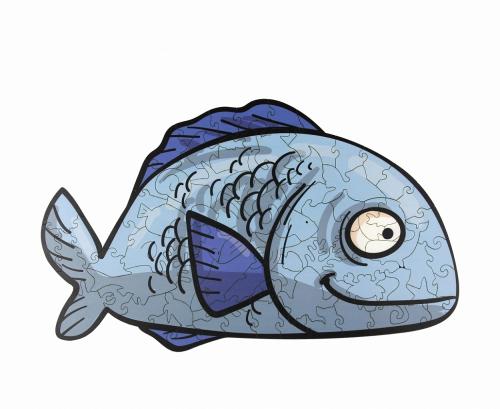 Пазл WOODLANDTOYS Рыбка