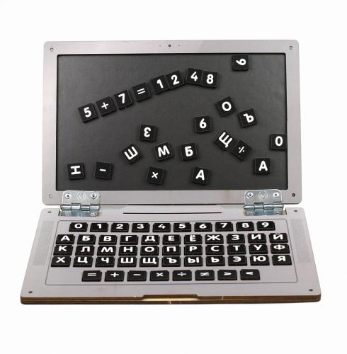 Обучающий набор WOODLANDTOYS Ноутбук Классика