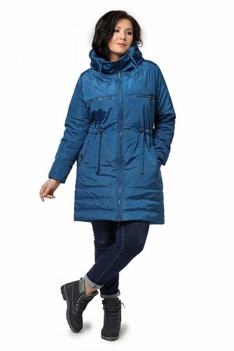 Пальто #225745Св.синий