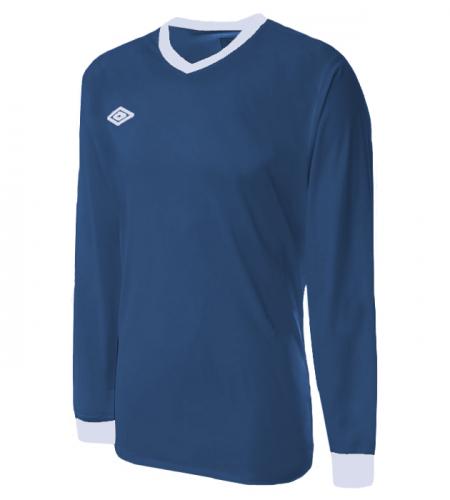 699р. 1397р. NEW IRELAND JERSEY LS, футболка игр., (070) син/бел