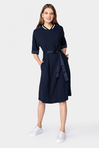 Платье #178687Темно-синий