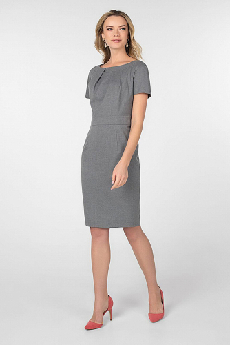Платье #180611Серый