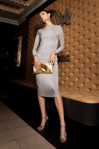 Платье #180823Светло-серый