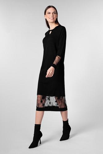 Платье #180833Черный