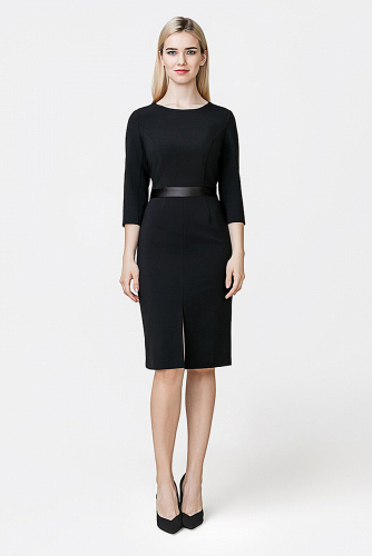 Платье #178682Черный