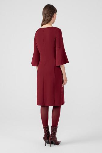 Платье #178663Бордовый