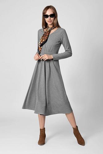 Платье #180749Серый