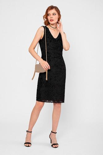 Платье #180808Черный