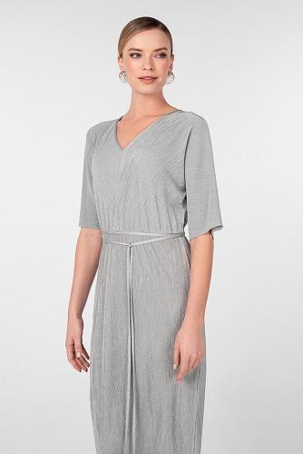 Платье #180824Светло-серый