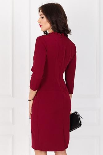 Платье #173313Бордо