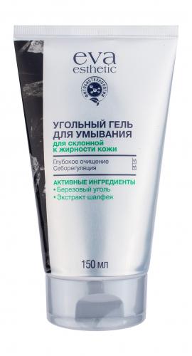 EVA/Уход/Уголь/Гель для умывания угольный для склонной к жирности кожи, 150 мл
