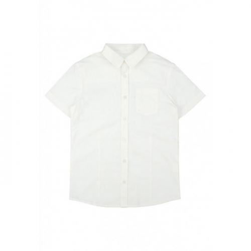 Сорочка верхняя детская для мальчиков Gruis-Inf base белый