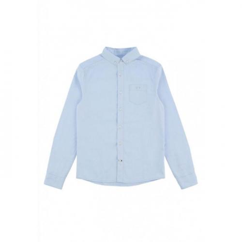 Сорочка верхняя детская для мальчиков Canopus-Inf голубой