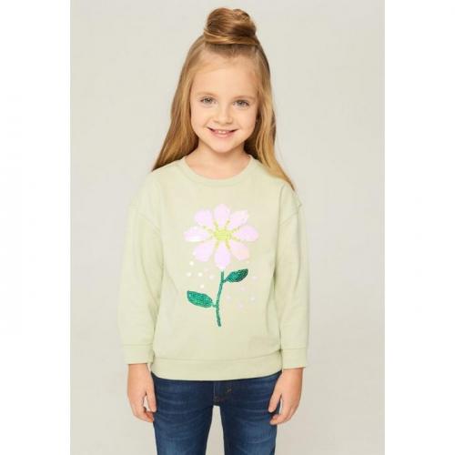 Джемпер детский для девочек Sakura светло-зеленый