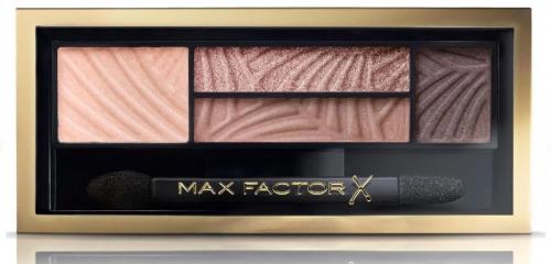 Max Factor Тени 4-хцветные Для Век И Бровей  Smokey Eye Drama Kit 2 В 1 Ж Товар Тон 01 opulent nudes