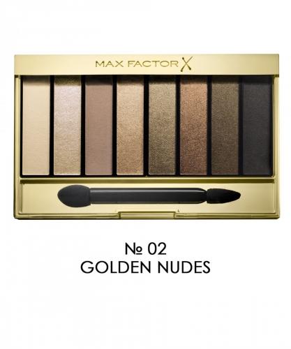 Max Factor Тени для век Masterpiece Nude Palette Ж Товар Тон 02 golden nudes