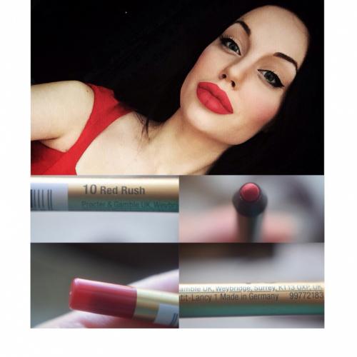 Max Factor Карандаш Для Губ Colour Elixir Lip Liner Ж Товар 10 тон red rush
