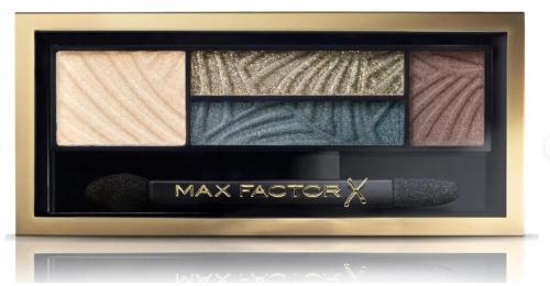 Max Factor Тени 4-хцветные Для Век И Бровей  Smokey Eye Drama Kit 2 В 1 Ж Товар Тон 05 magnetic jades