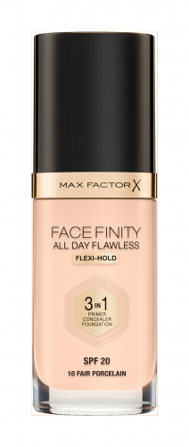 MF тон.основа Facefinity All Day Flawless 3-in-1 т.10  fair porcelain