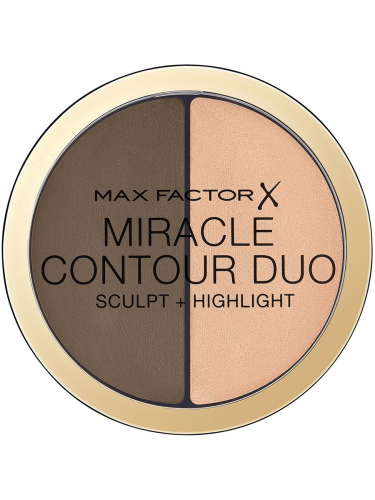 Max Factor Контуринг И Хайлайтер Miracle Contouring Duo Ж Товар Medium deep