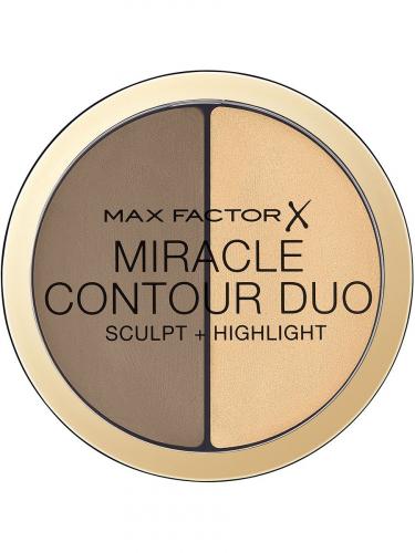 Max Factor Контуринг И Хайлайтер Miracle Contouring Duo Ж Товар Light medium
