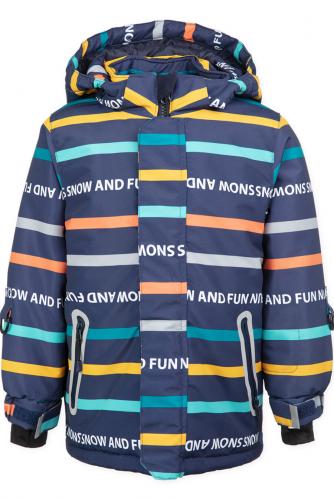 Куртка #160889Темно-синий