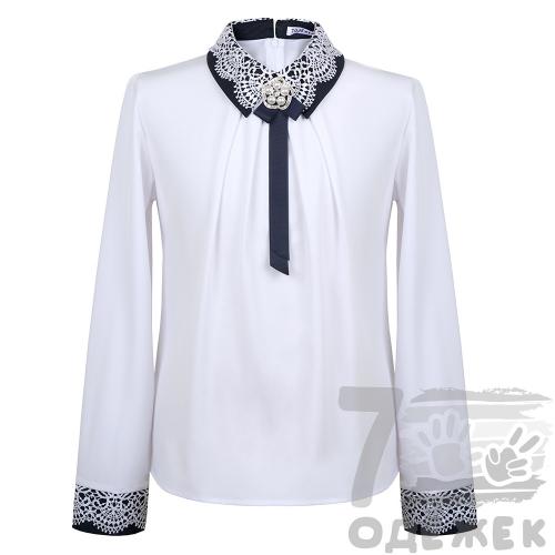 251 Блузка для девочки с длинным рукавом