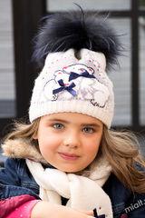 Шапка и шарф Плюшевые мишки Комплект 50-52