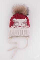 Шапка Полярный мишка boy 52-54