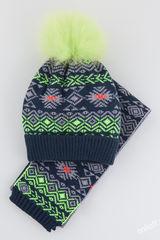 Шапка и шарф Тироль Комплект 54-56
