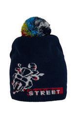 Шапка Street style с помпоном 48-52