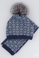 Шапка и шарф Валдай Комплект 54-56