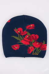 Шапка Тюльпаны 52-54