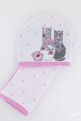 Шапка и шарф Мода Комплект 48-52