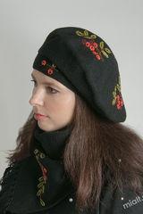 Шапка и шарф Лоза Комплект 54-56