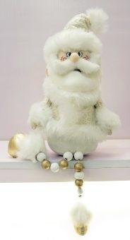 Кукла Дед Мороз 45 см, золото