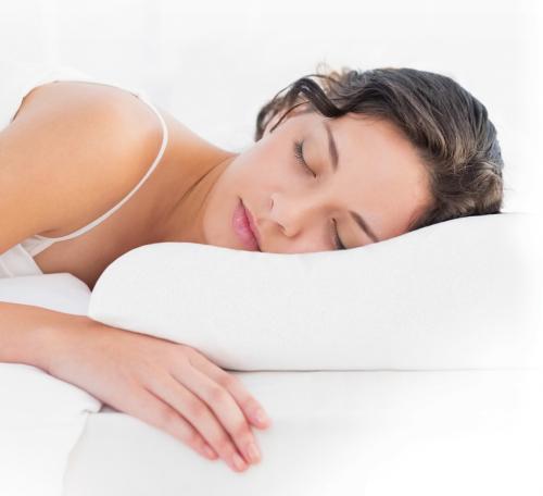 Подушка ортопедическая с эффектом памяти, волнообразная анатомическая форма