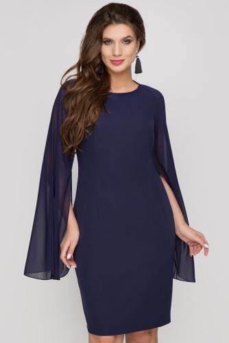 Платье #161523Темно-синий