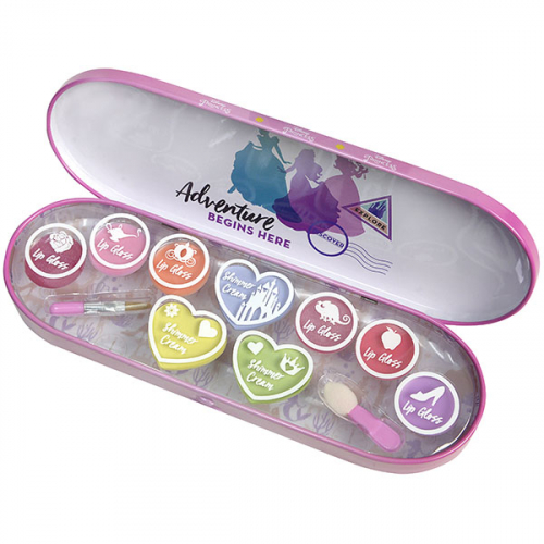 Princess Игровой набор детской декоративной косметики для лица в пенале мал.