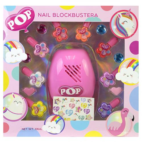 POP Игровой набор детской декоративной косметики для ногтей