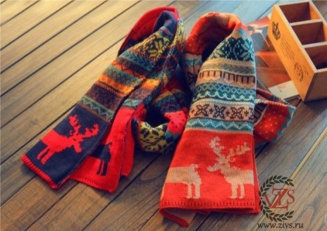 Скандинавский шарф