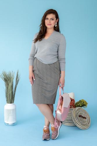 Блуза-туника 48710 производителя Eliseeva Olesya