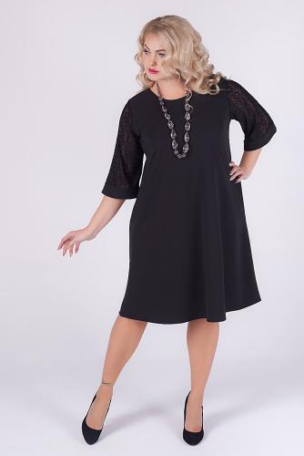 Платье #145298Черный