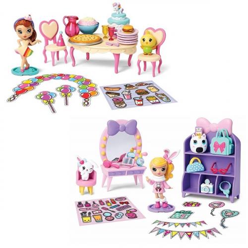 Игрушка Party Popteenies игровой набор коробка с сюрпризом