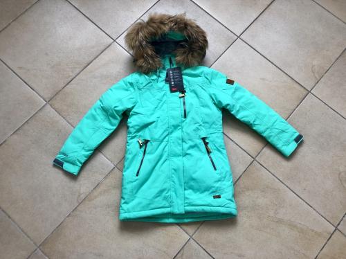 Теплая зимняя мембранная парка High Experience цвет Peppermint р. 140+