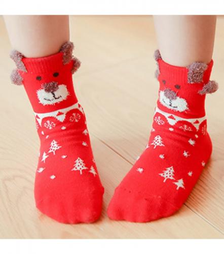 Набор детских носков новогодний «Собачка», 4 пары C561064