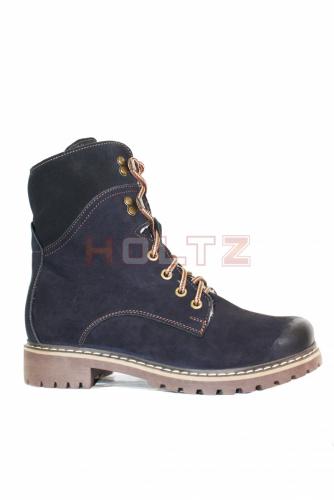 Зимние ботинки из нубука 8674 2-3-1 astra
