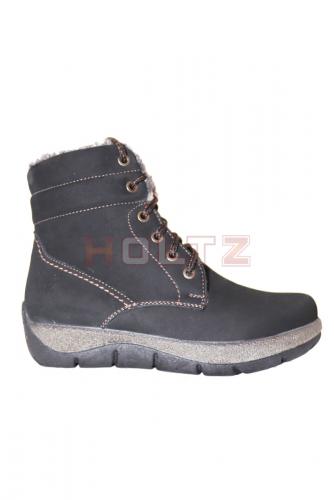 Женские зимние ботинки повышенной полноты 8906 2-0-1